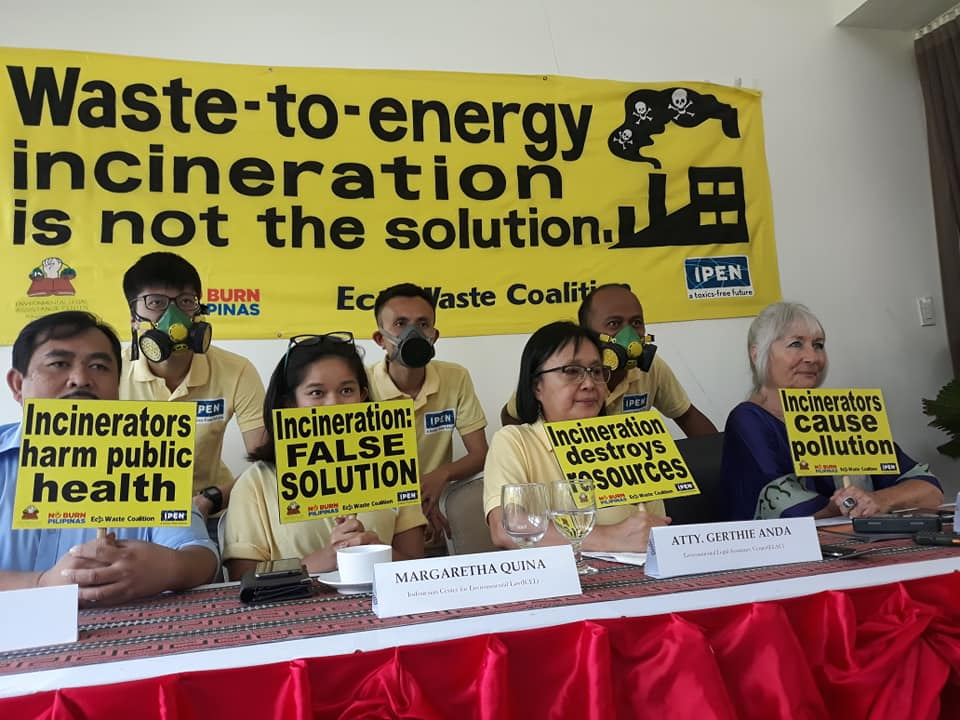 Palawan Philippines World Environmental Day Waste To Energy Incineration Is Not The Solution